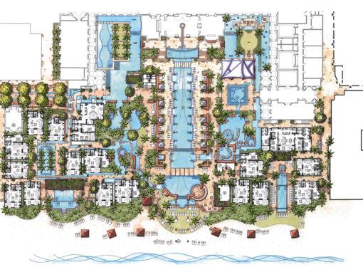 Desert Resort Oasis